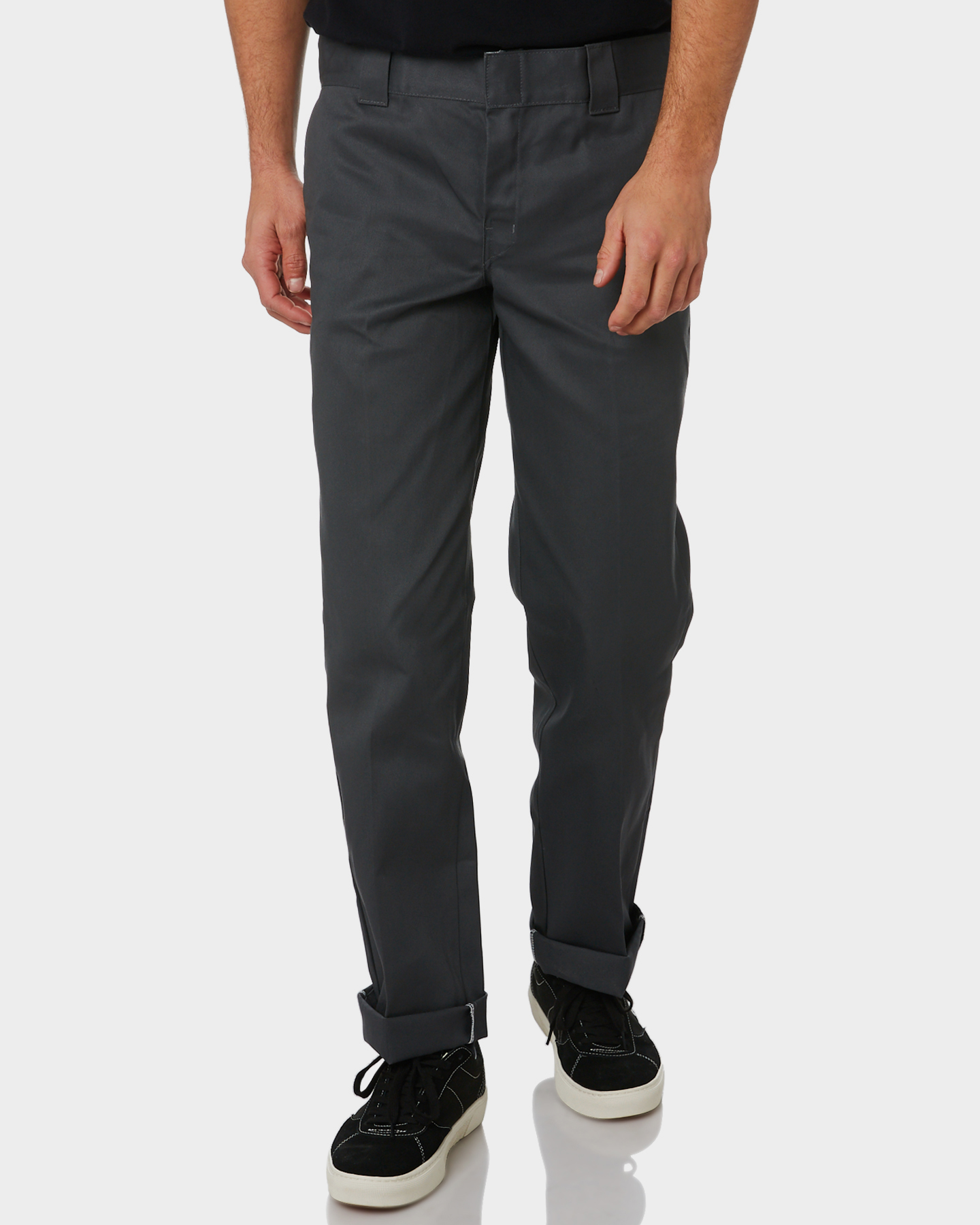 53854768de4b46 New Dickies Men's 873 Slimmer Straight Fit Work Pant Cotton .
