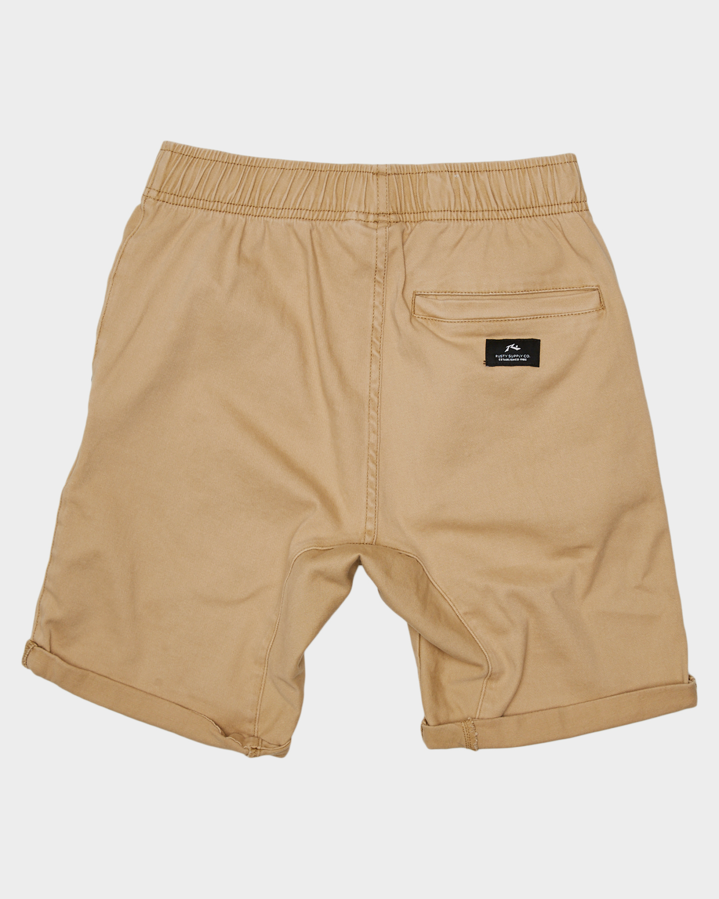 New-Rusty-Boys-Kids-Boys-Hooked-On-Elastic-Walkshort-Cotton-Black