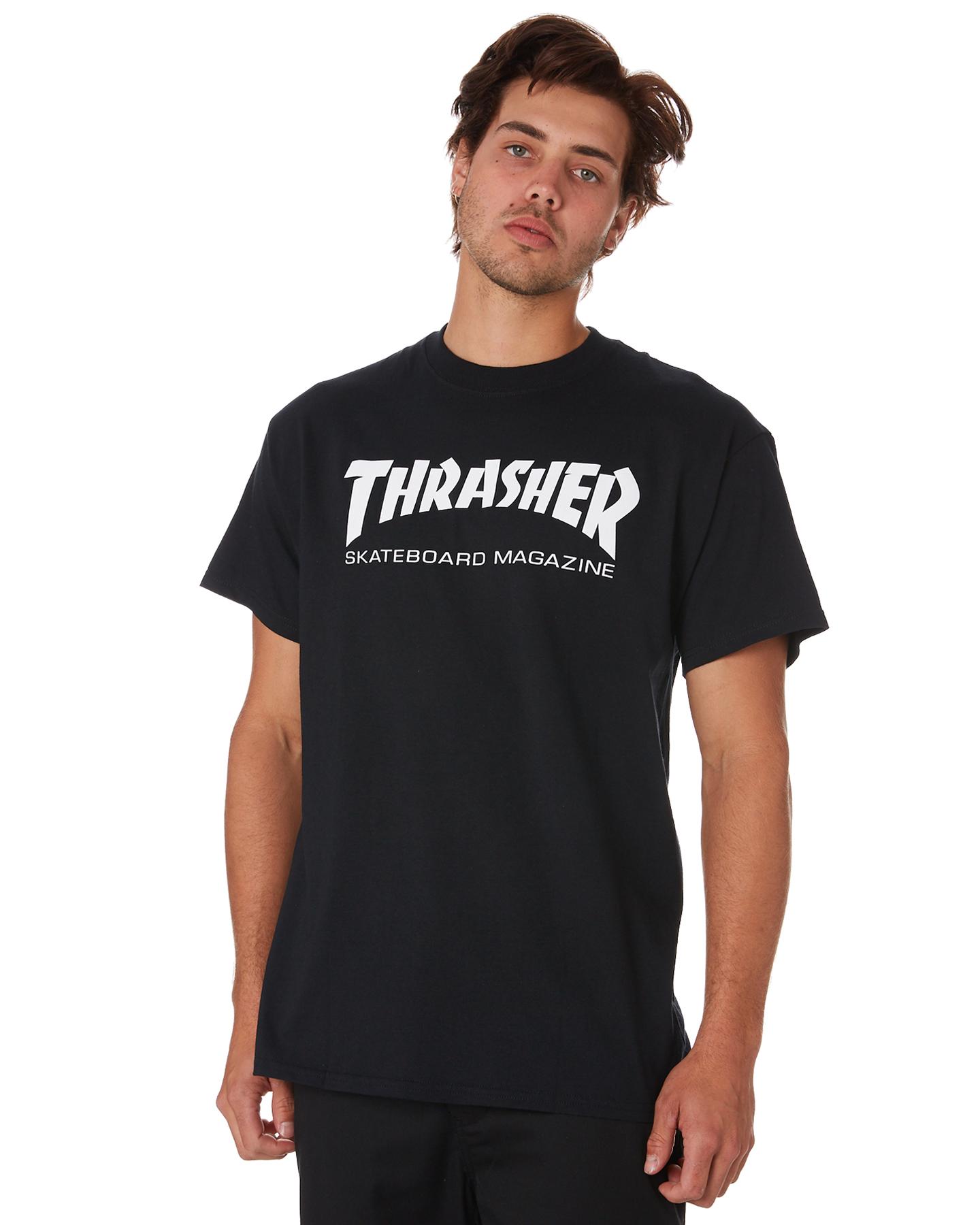 Thrasher Skate Mag Mens Tee Black 9339389472230