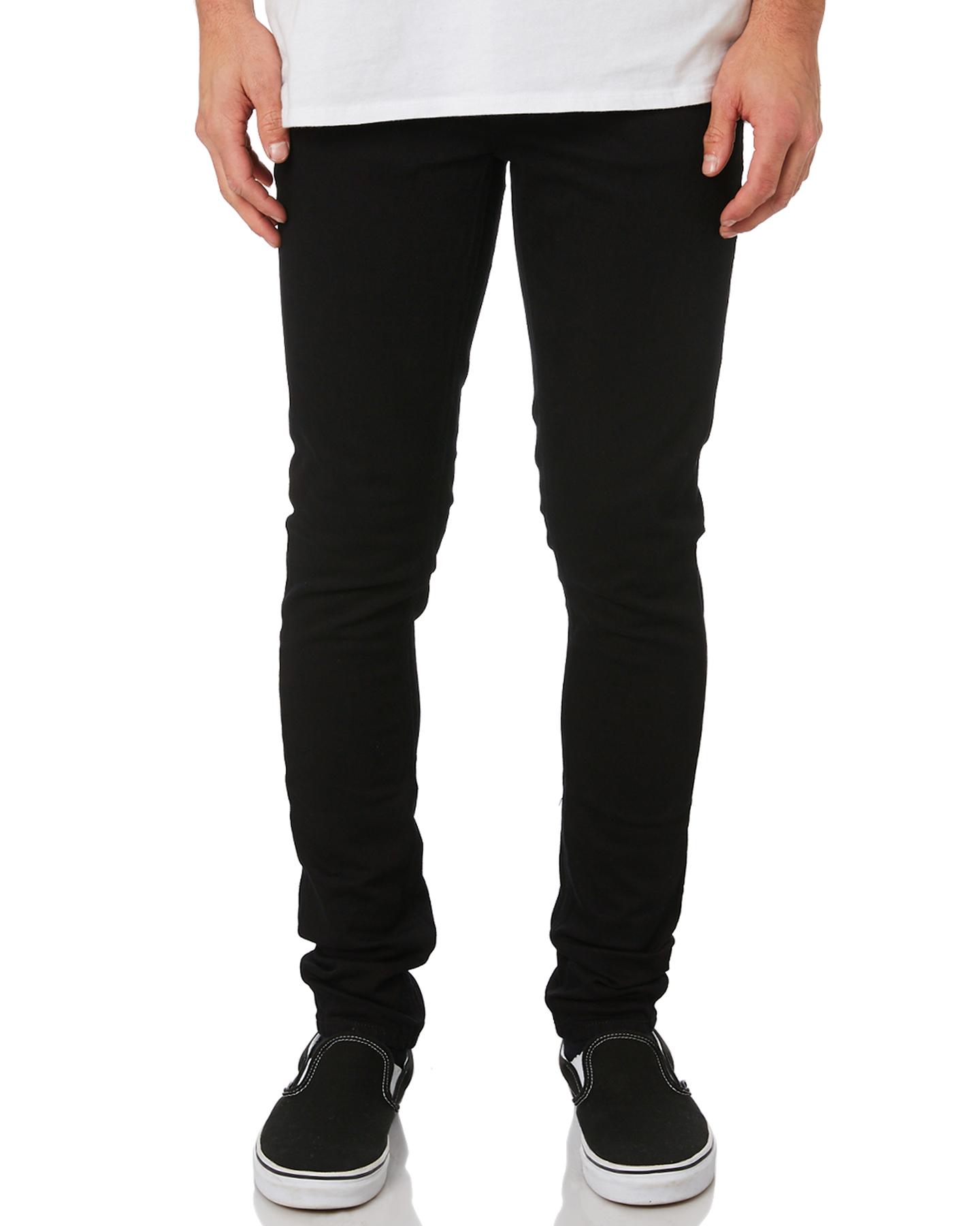 88d61078f7aa Nudie Jeans Co Men s Skinny Lin Mens Jean Cotton Elastane Black