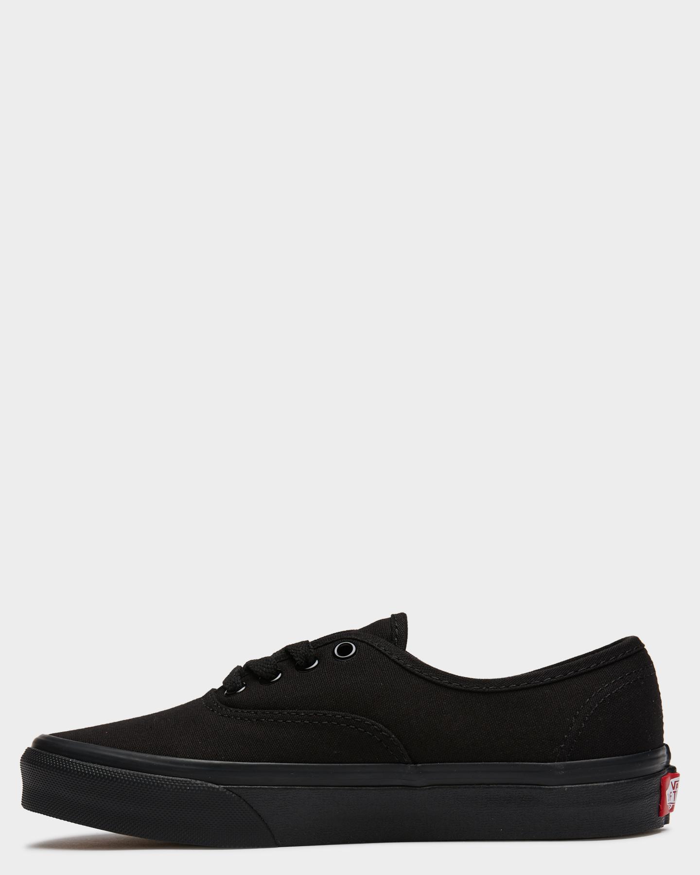 NEW-Vans-Shoes-Boys-Kids-Authentic-Shoe-Rubber-Soft-Children-Black-Footwear thumbnail 2