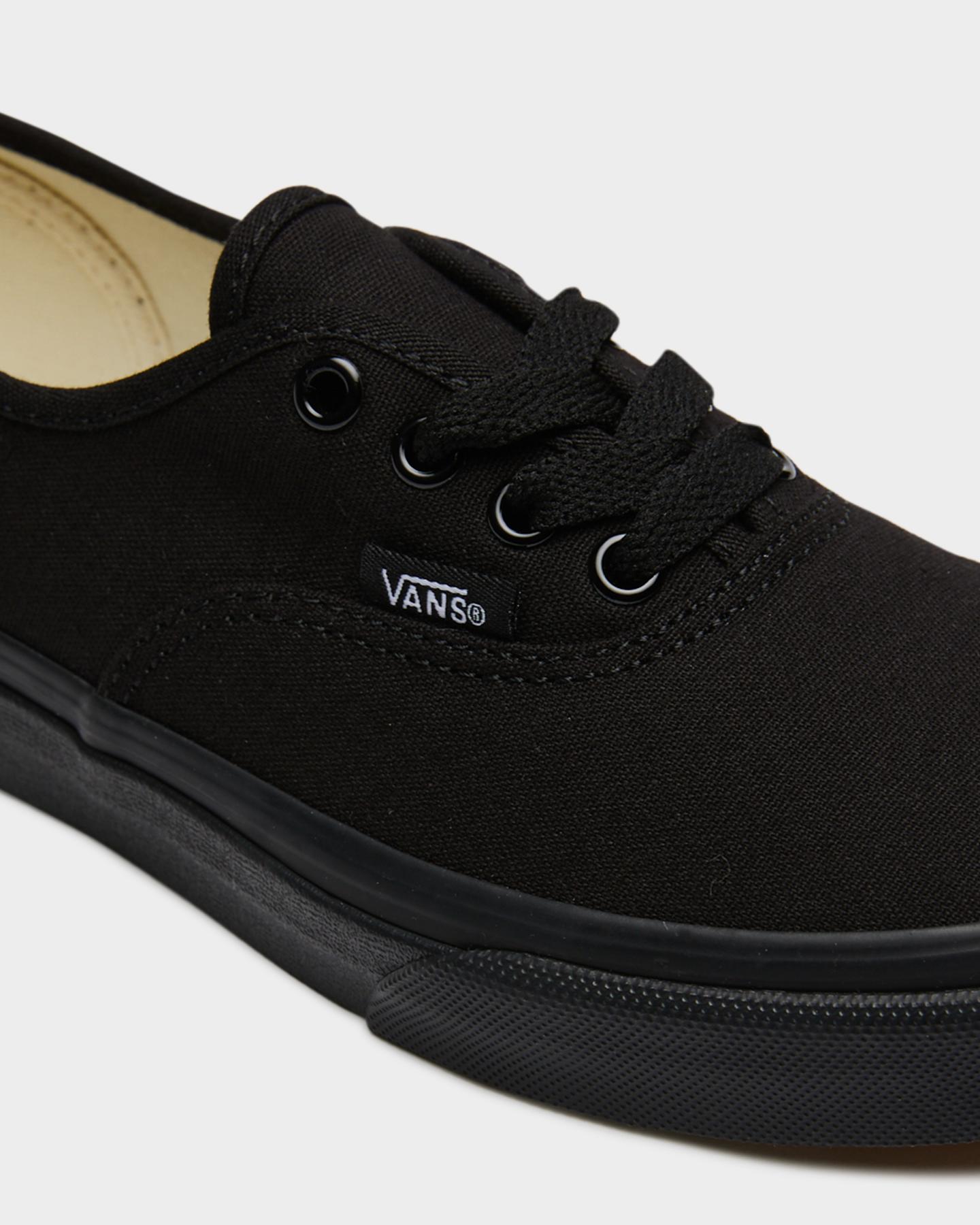 NEW-Vans-Shoes-Boys-Kids-Authentic-Shoe-Rubber-Soft-Children-Black-Footwear thumbnail 4