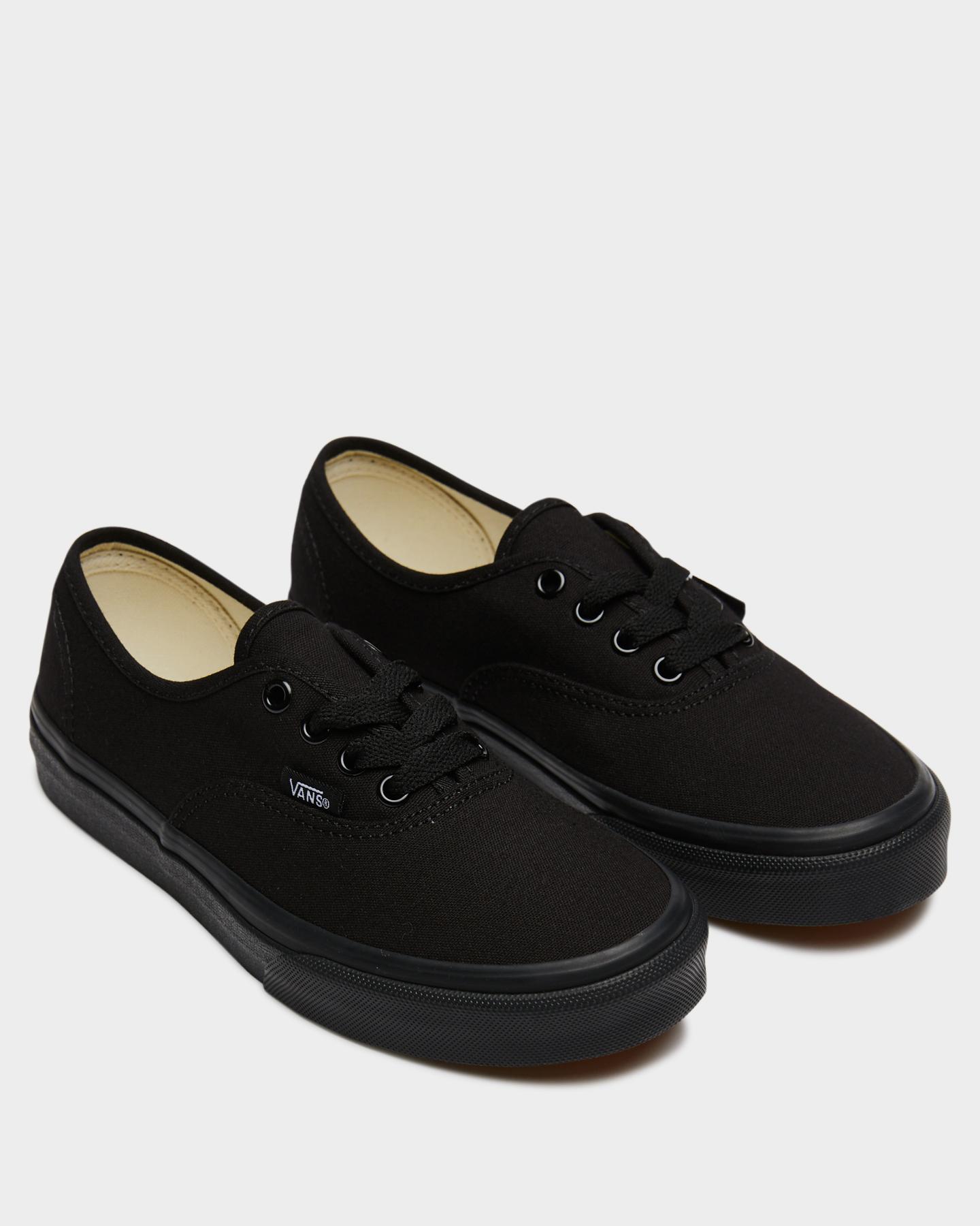 NEW-Vans-Shoes-Boys-Kids-Authentic-Shoe-Rubber-Soft-Children-Black-Footwear thumbnail 5