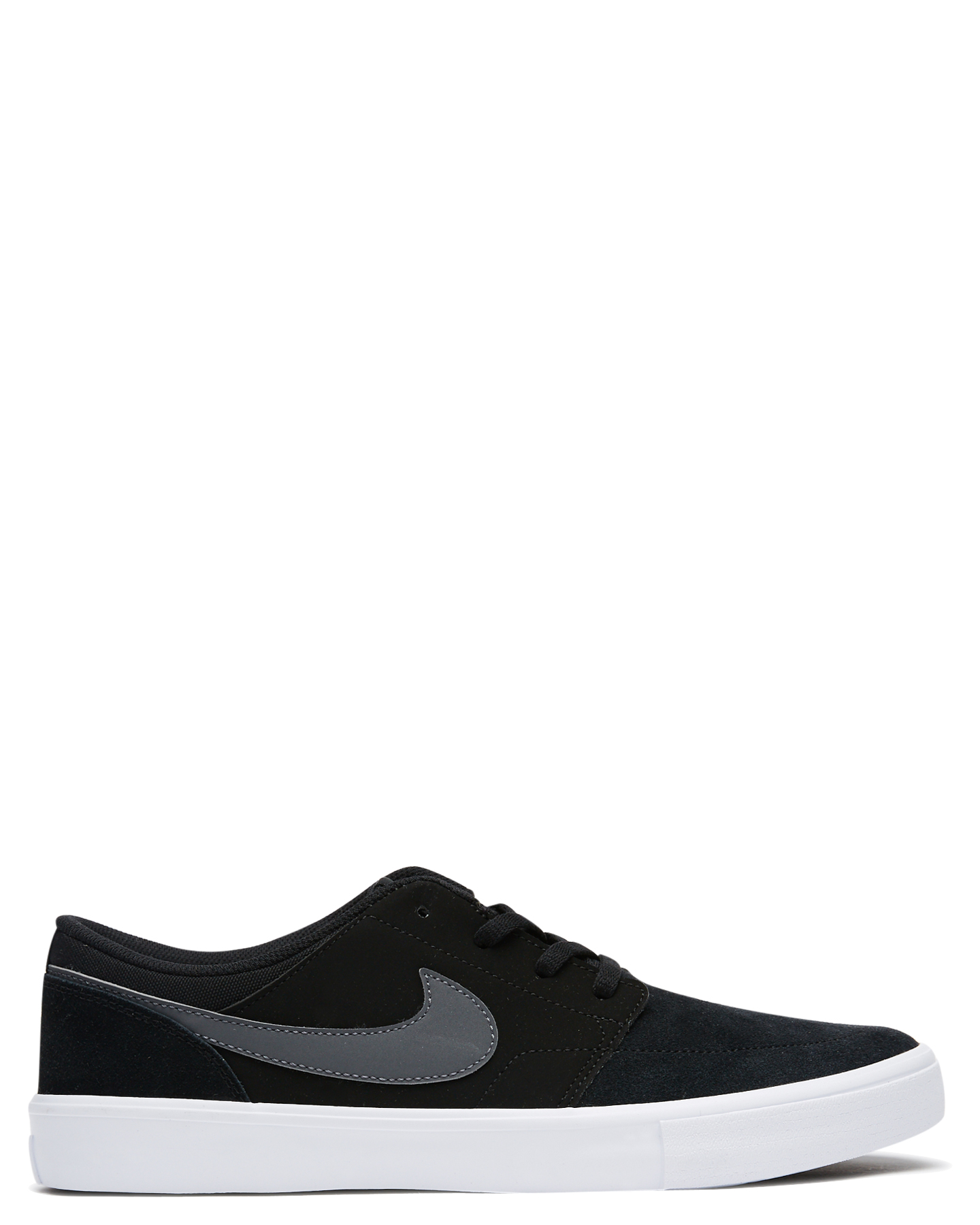 Nike Mens Sb Solarsoft Portmore Ii Shoe Black 823233665262