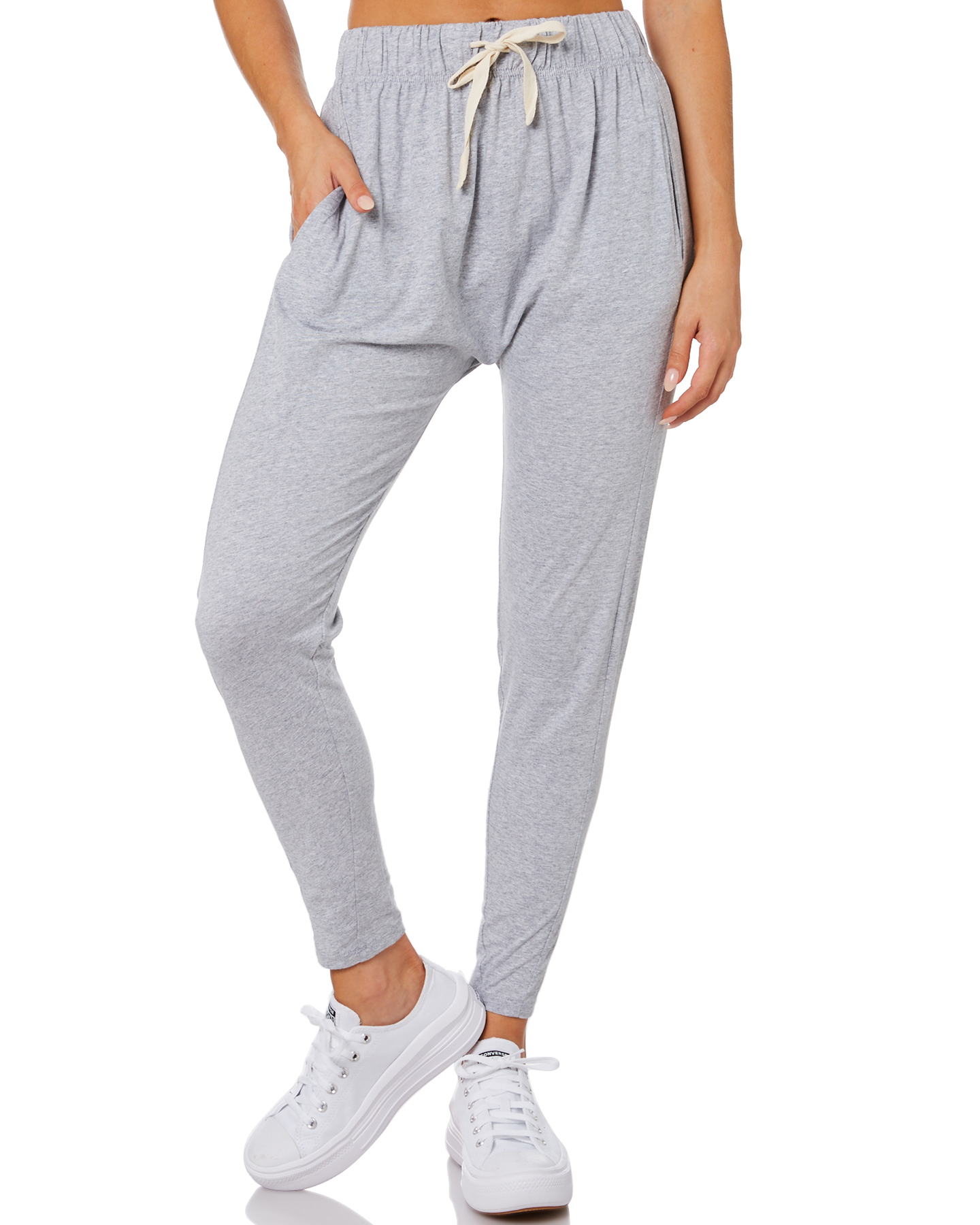 Silent Theory Fluid Womens Pant Grey Marle