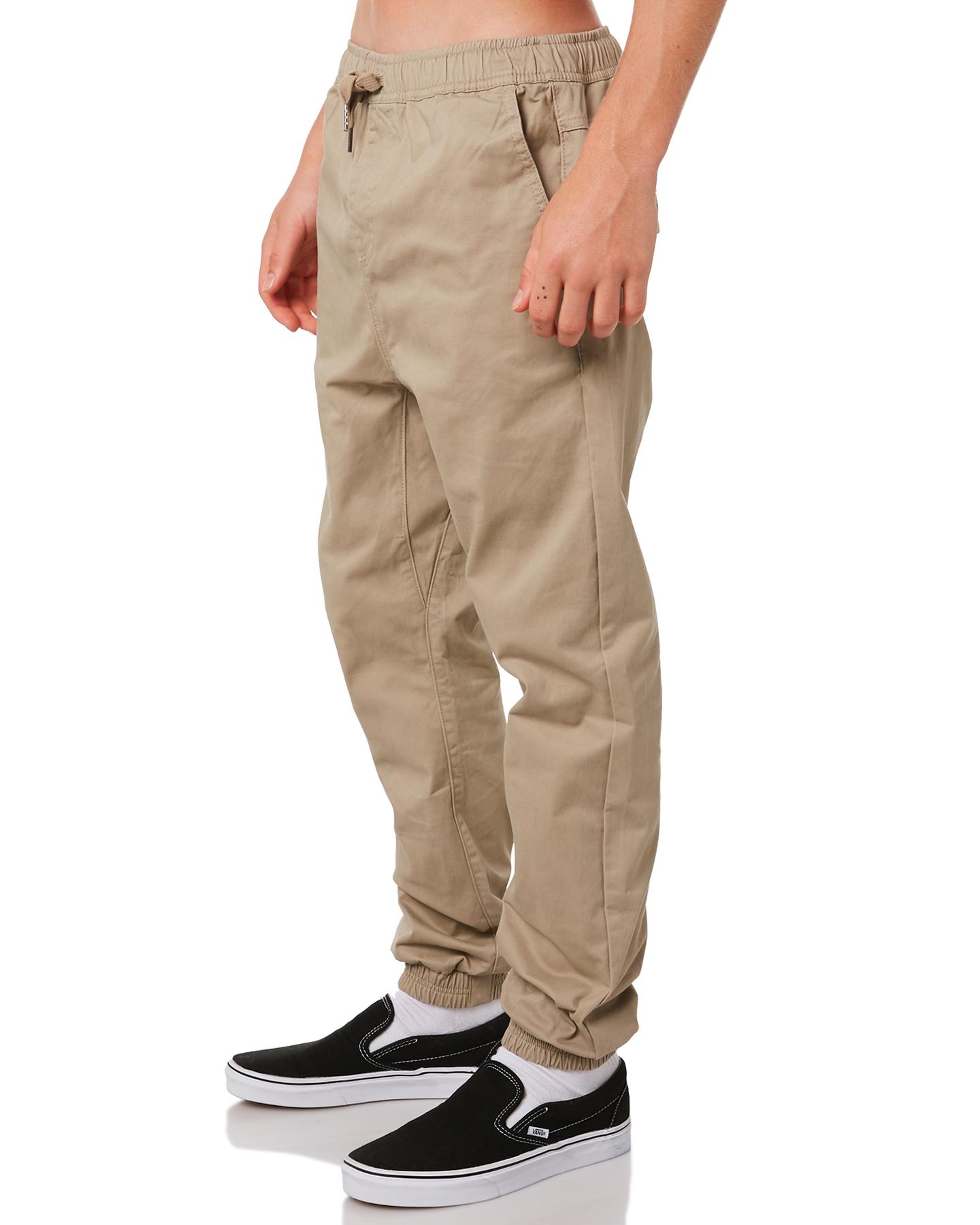 New-Swell-Boys-Kids-Boys-Cartel-Pant-Cotton-Elastane-Brown