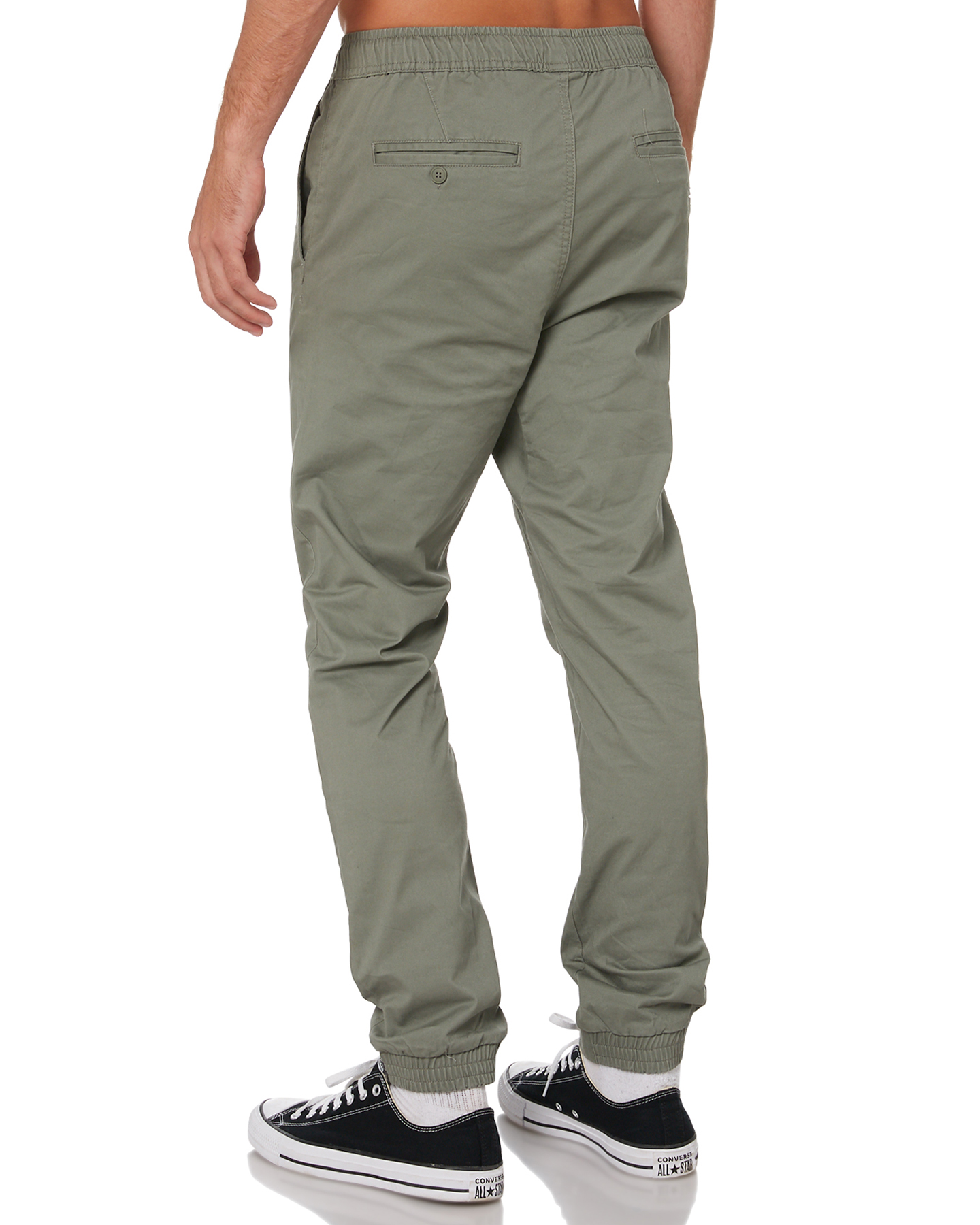 New-Swell-Men-039-s-Blunt-Cargo-Mens-Jogger-Pant-Cotton-Elastane-Green thumbnail 18