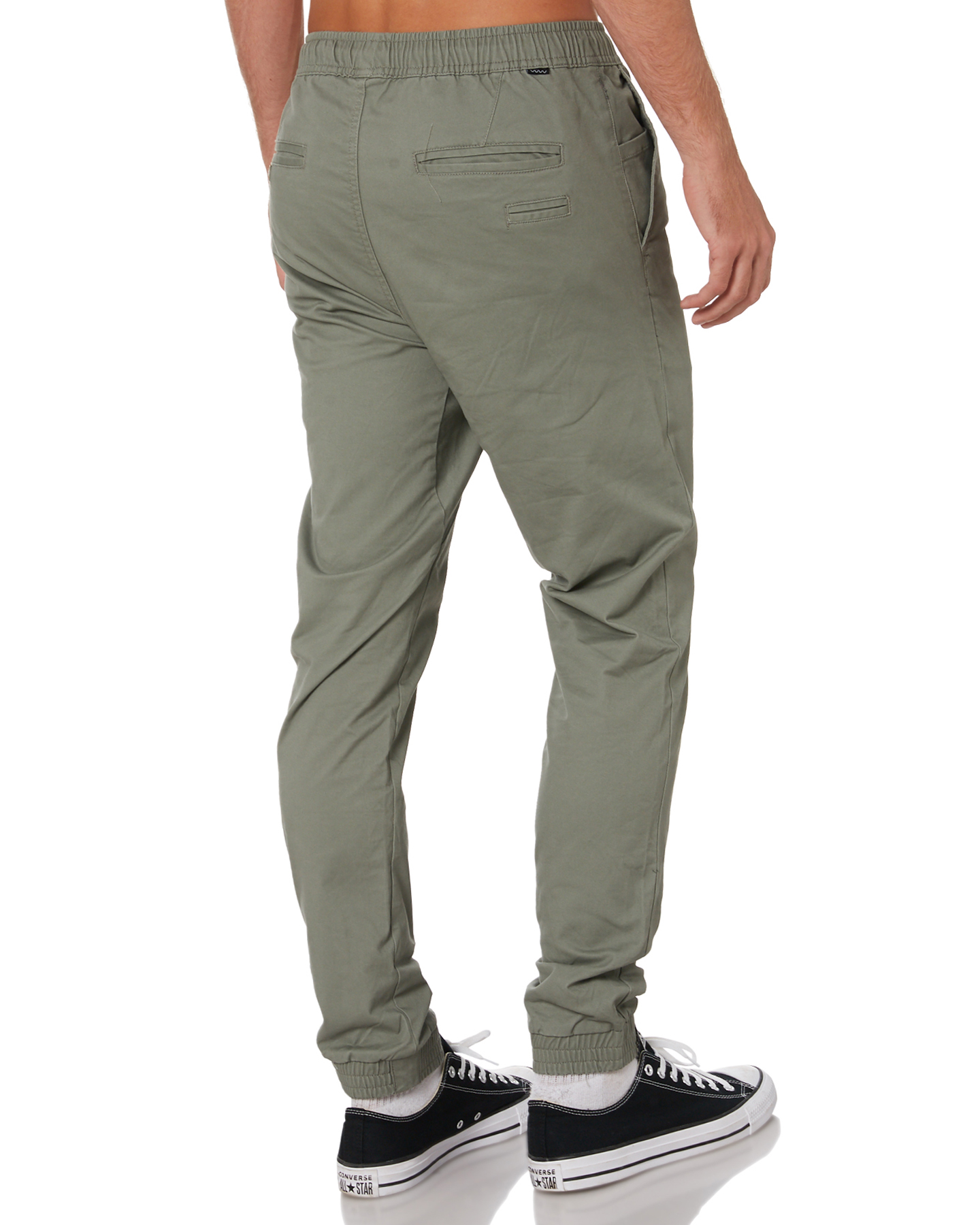 New-Swell-Men-039-s-Blunt-Cargo-Mens-Jogger-Pant-Cotton-Elastane-Green thumbnail 19