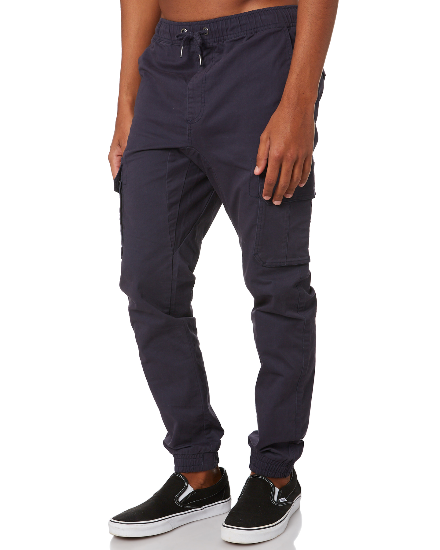 New-Swell-Men-039-s-Blunt-Cargo-Mens-Jogger-Pant-Cotton-Elastane-Green thumbnail 22