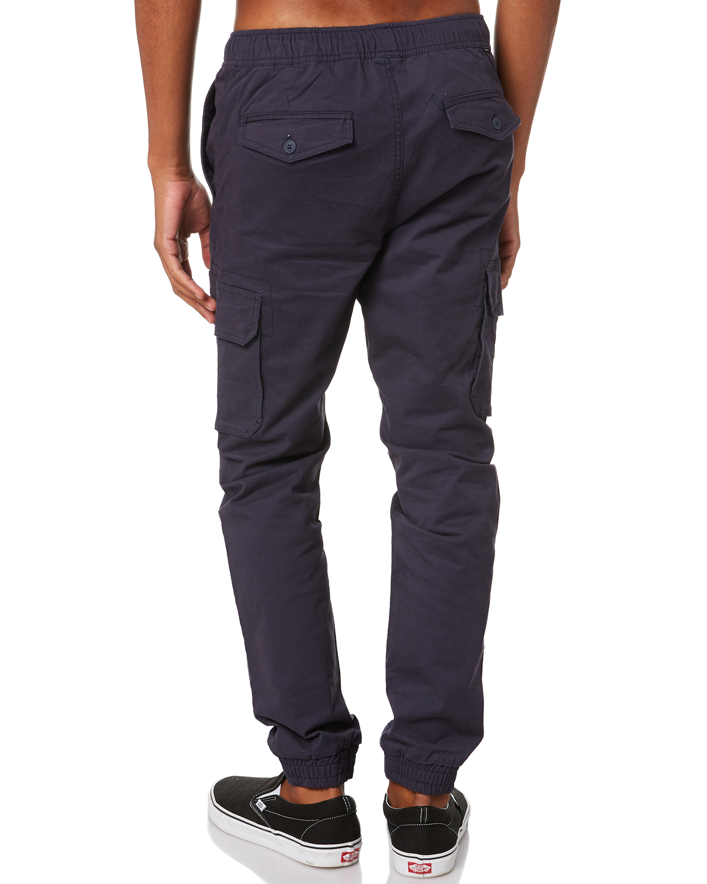 New-Swell-Men-039-s-Blunt-Cargo-Mens-Jogger-Pant-Cotton-Elastane-Green thumbnail 23