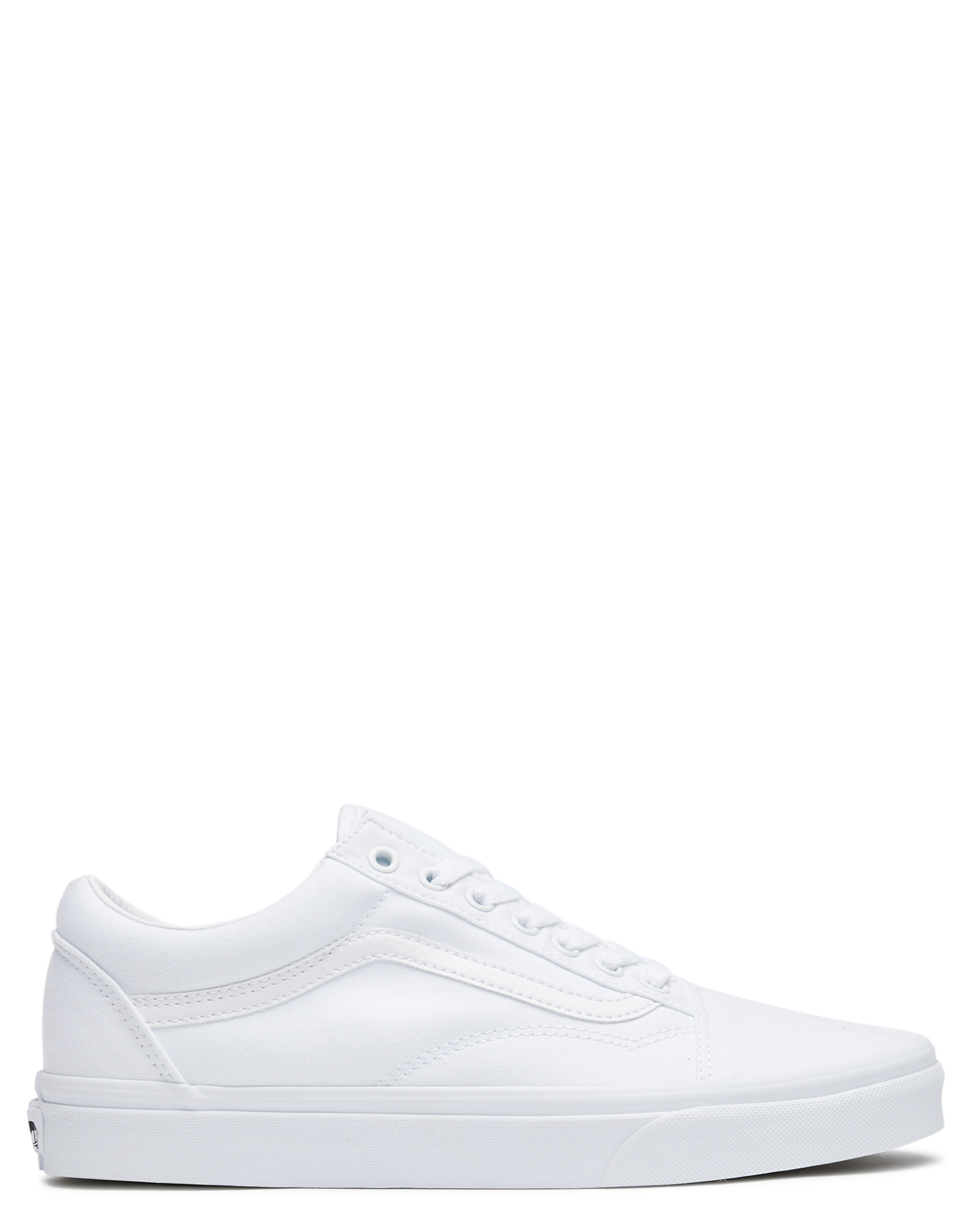 180e5dab125 Vans Skate Men s Mens Old Skool Shoe Lace Soft White
