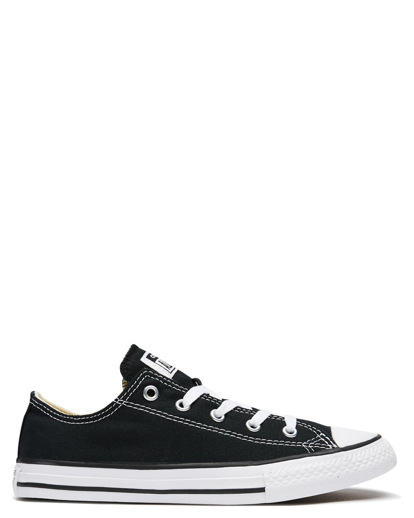 cdfe001e0b9f Converse Kids Chuck Taylor All Star Lo Shoe Black Baby Boys Shoes ...