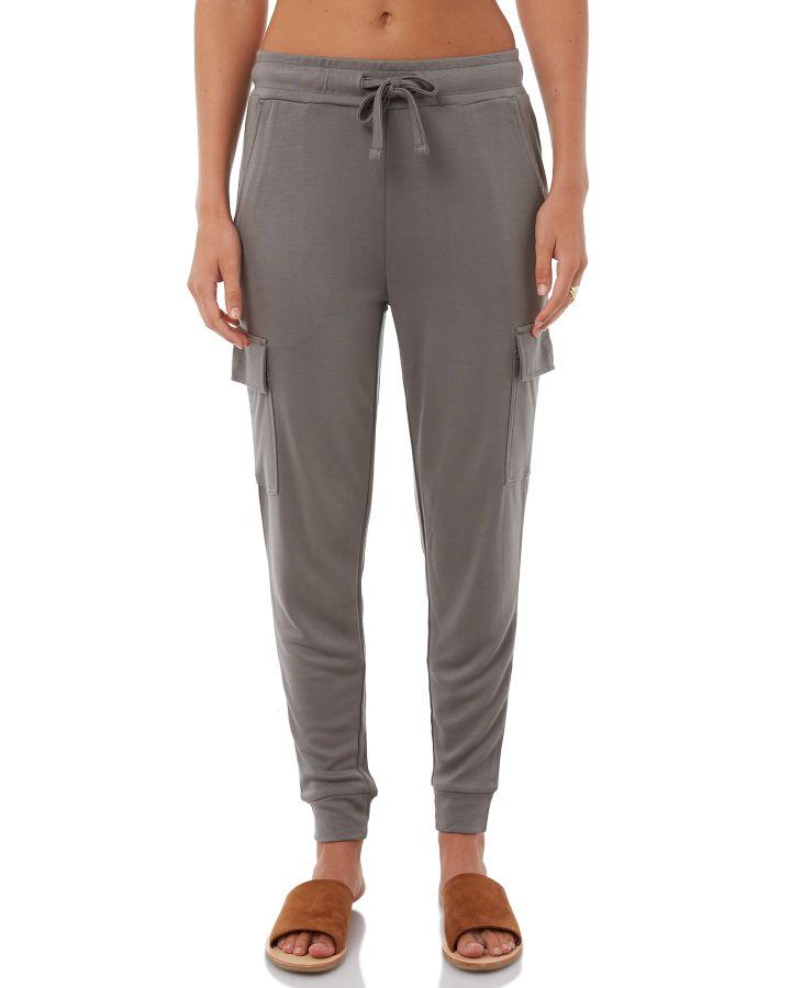 Swell Pembury Silky Jersey Cargo Trousers Green 9350907063709