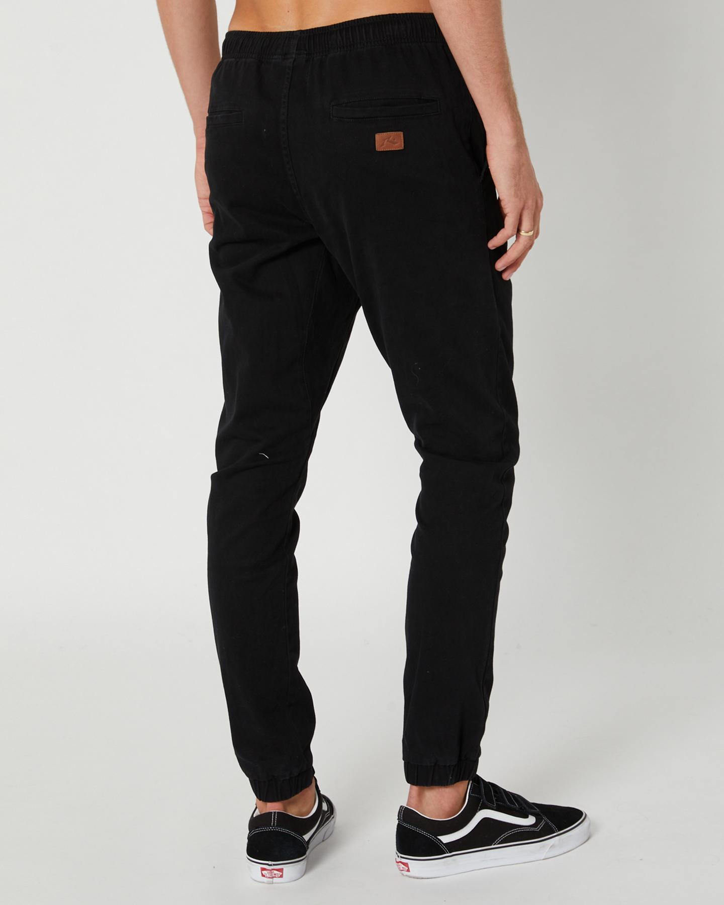 New-Rusty-Men-039-s-Hook-Out-Mens-Jogger-Pant-Cotton-Spandex-Blue thumbnail 9