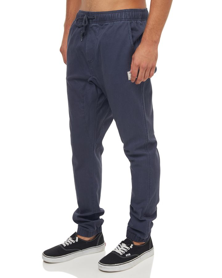 New-Rusty-Men-039-s-Hook-Out-Mens-Jogger-Pant-Cotton-Spandex-Blue thumbnail 27