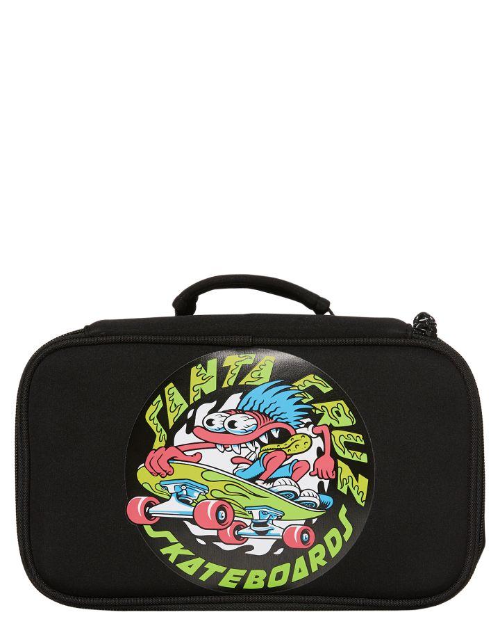 Santa Cruz Grommet Lunch Box Black 9349987522886