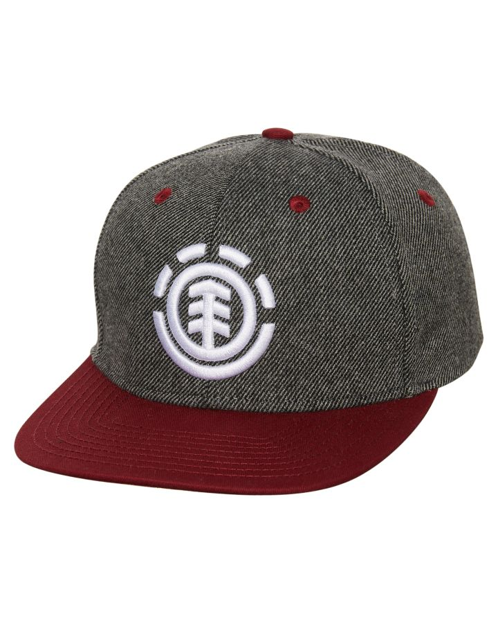 Knutsen Snapback Cap In Grey - Grey Element dl8R8jqCj