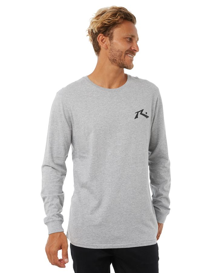 New-Rusty-Men-039-s-One-Hit-Competition-Ls-Mens-Tee-White