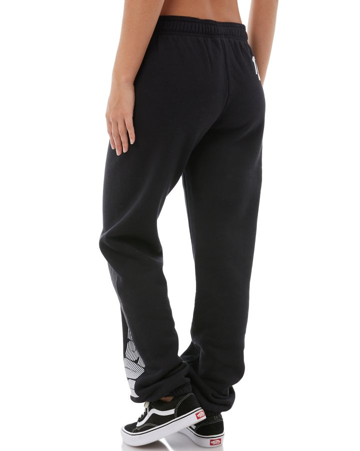 New-Rusty-Women-039-s-Womens-Buddy-Trackpant-Cotton-Polyester-Black