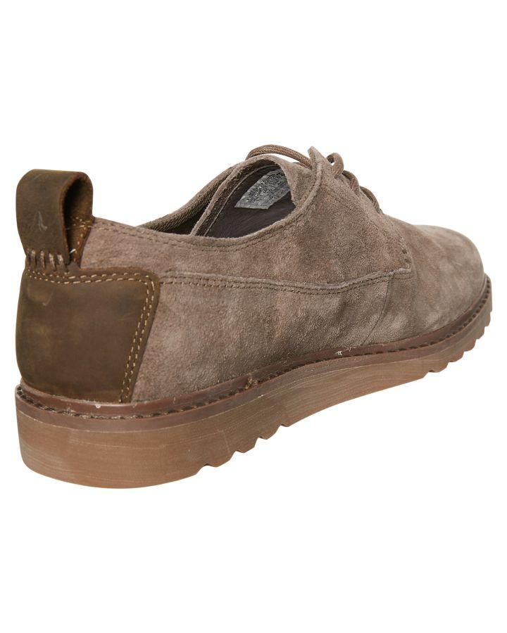 New Reef Men's Voyage Low Suede Shoe Pu Rubber Pu Shoe Grey c41531