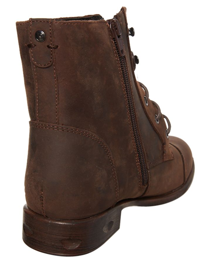 New-Roc-Boots-Australia-Women-039-s-Womens-Riff-Boot-Rubber-Black
