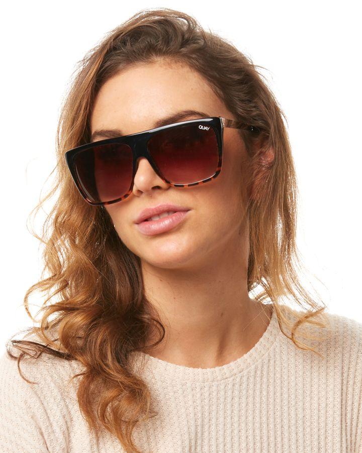 1b284087eca New Quay Eyewear Women s Otl Ii Sunglasses Steel Glass Brown