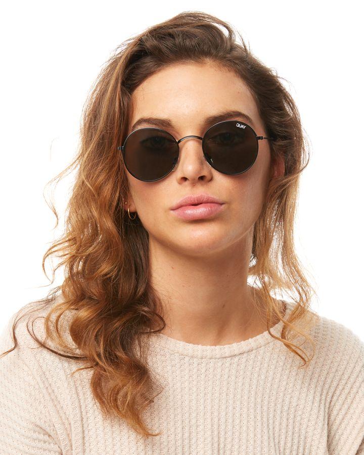 5119fe54b28b0 Quay Eyewear Women s Mod Star Sunglasses Steel