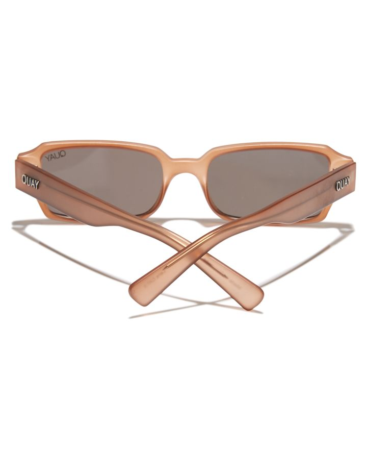 380c2594c301 New Quay Eyewear Women s Sofia Richie Strange Love Sunglasses Brown Smoke  N A