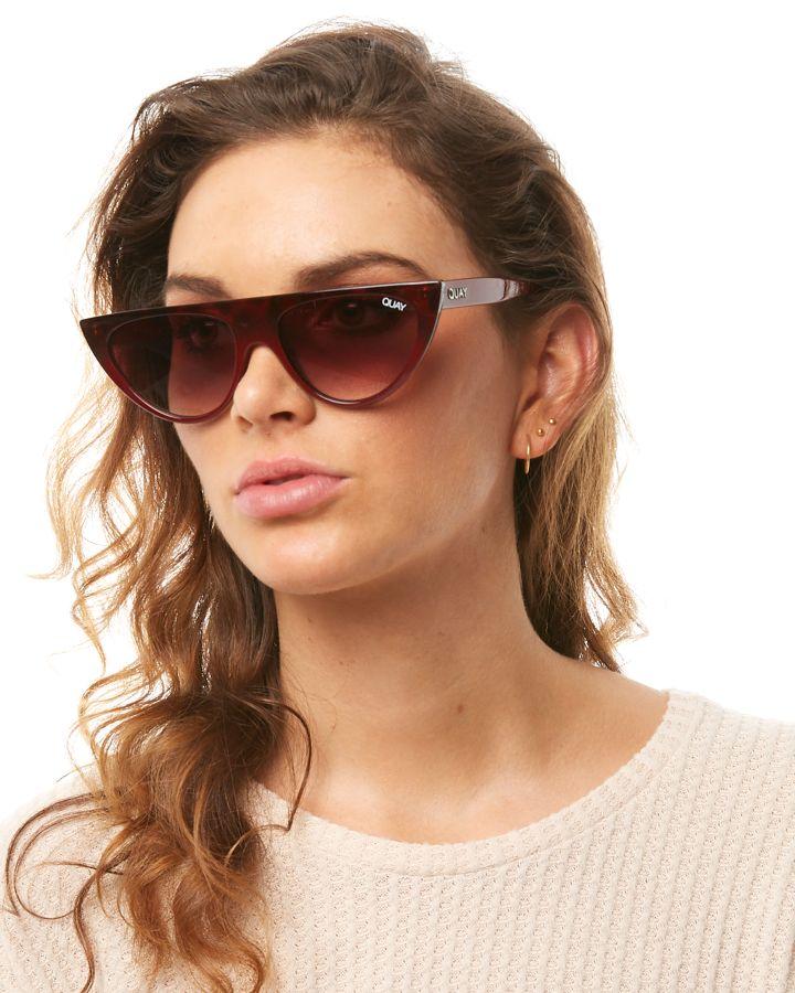 ed4411bc0bb78 New Quay Eyewear Women s Sofia Richie Run Away Sunglasses Black