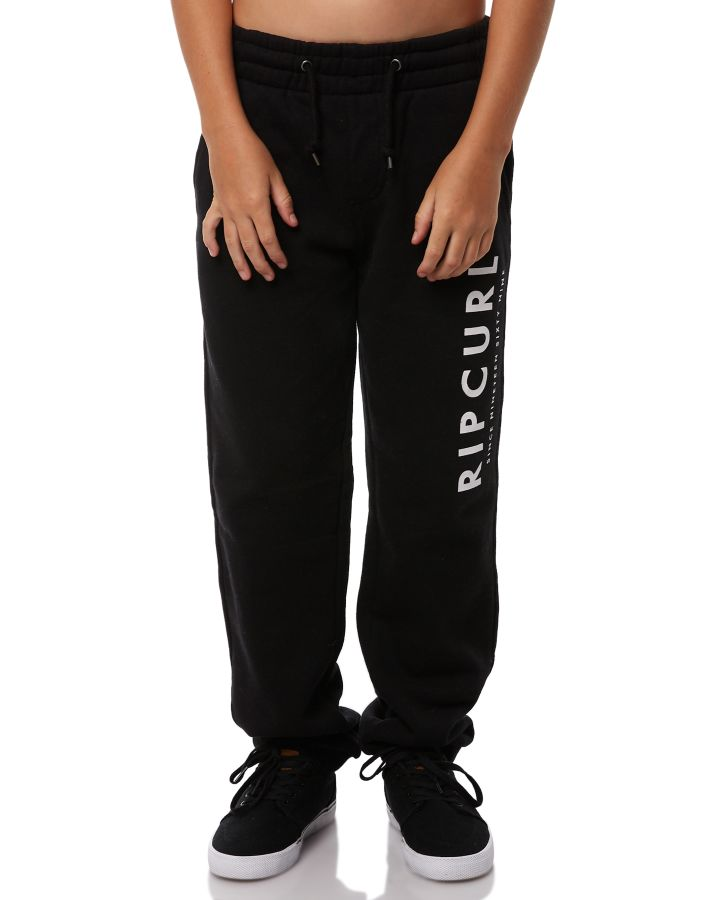Rip Curl Kids Boys Transfer Track Pant Black Boys jeans Size