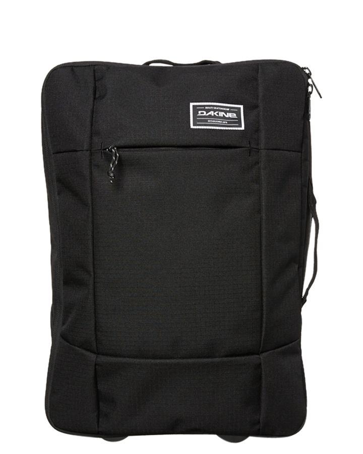 Dakine Carryon Roller Eq 40L Travel Bag Black 610934248173