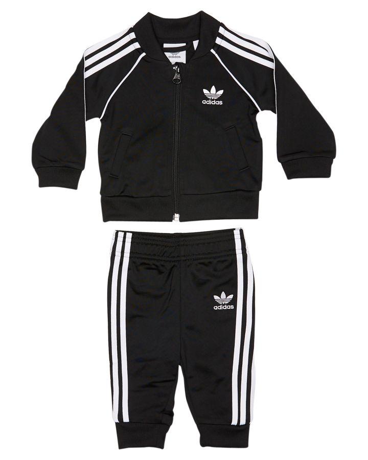Adidas Originals Tots Boys Superstar Tracksuit Black 4059805508477