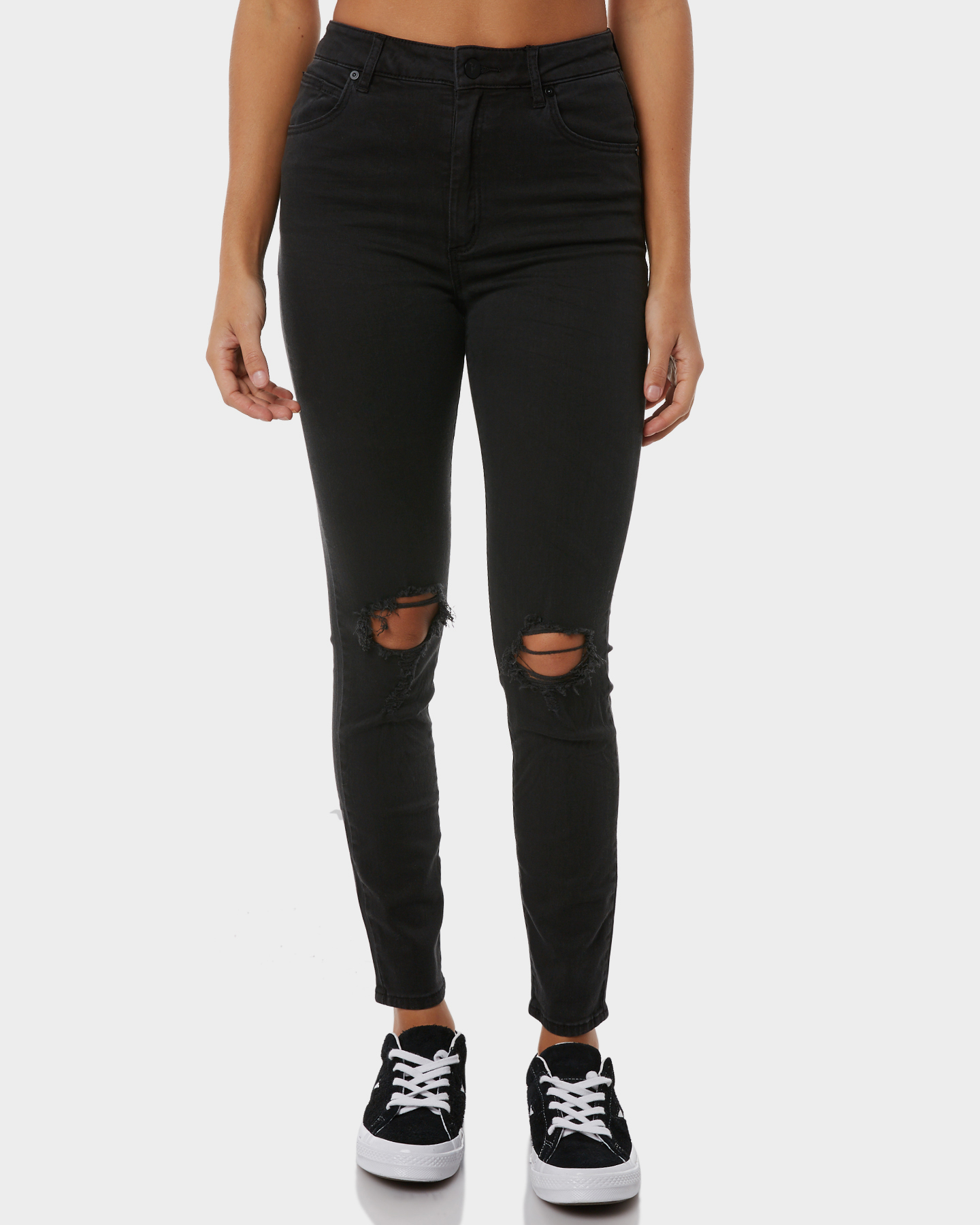 Abrand A High Skinny Ankle Basher Buser Black