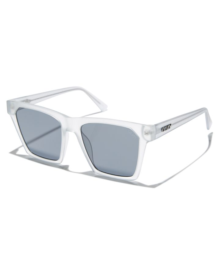 6b80f7dcdead New Quay Eyewear Women s Alright Sunglasses Polyester Glass White N ...