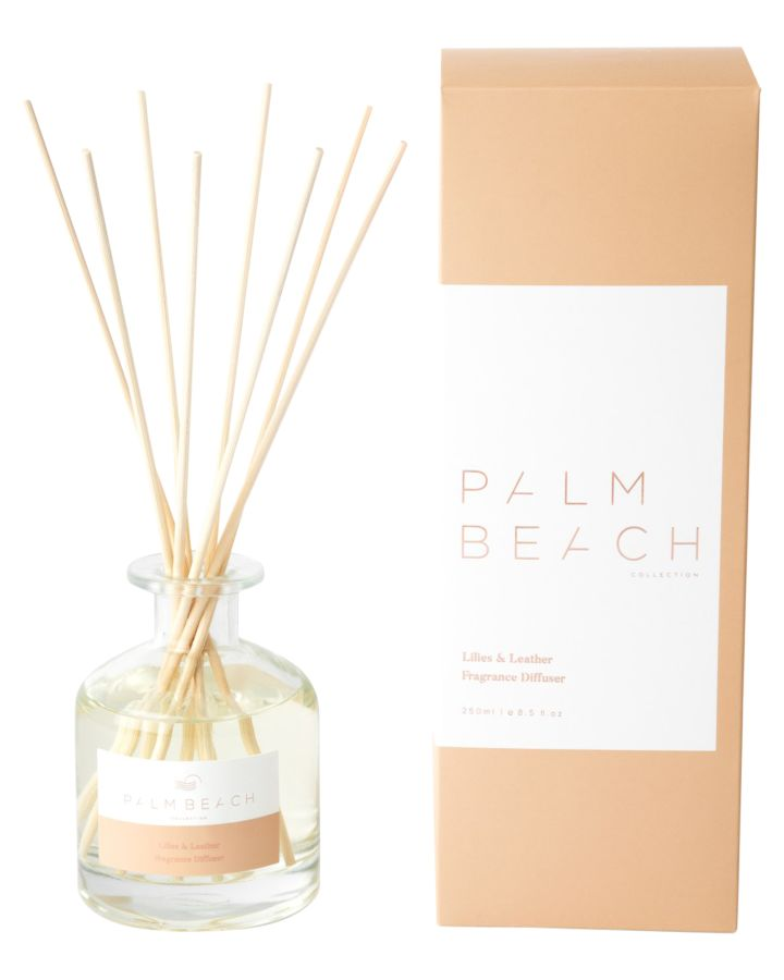 Palm Beach Collection Lillies And Leather Diffuser Lillies Leather Lillies Leather
