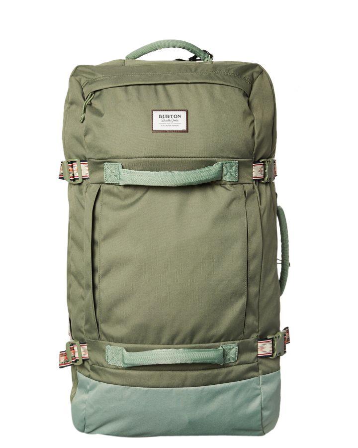 03c1bb06b624 Burton Exodus Roller 120L Travel Bag Clover Ripstop Clover Ripstop ...