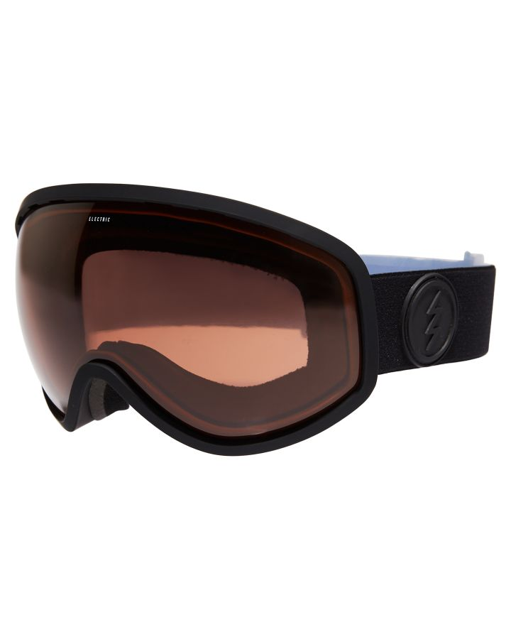c8304d24f9c7 New Electric Masher Snow Goggle Plastic Pu 100% Uv Protection Black ...
