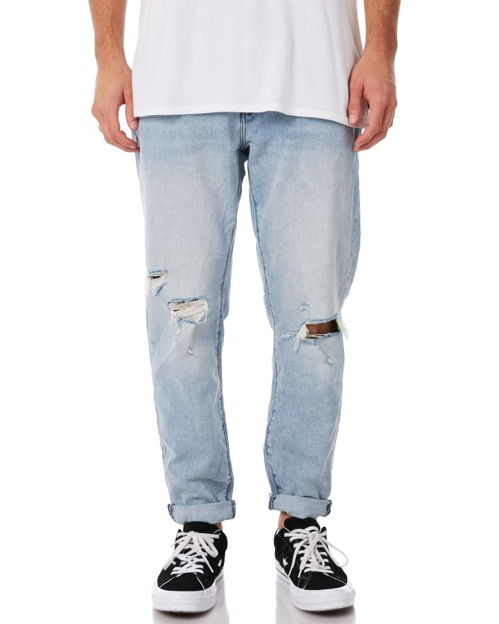 Image of A.Brand A Dropped Slim Mens Jean The Jams The Jams