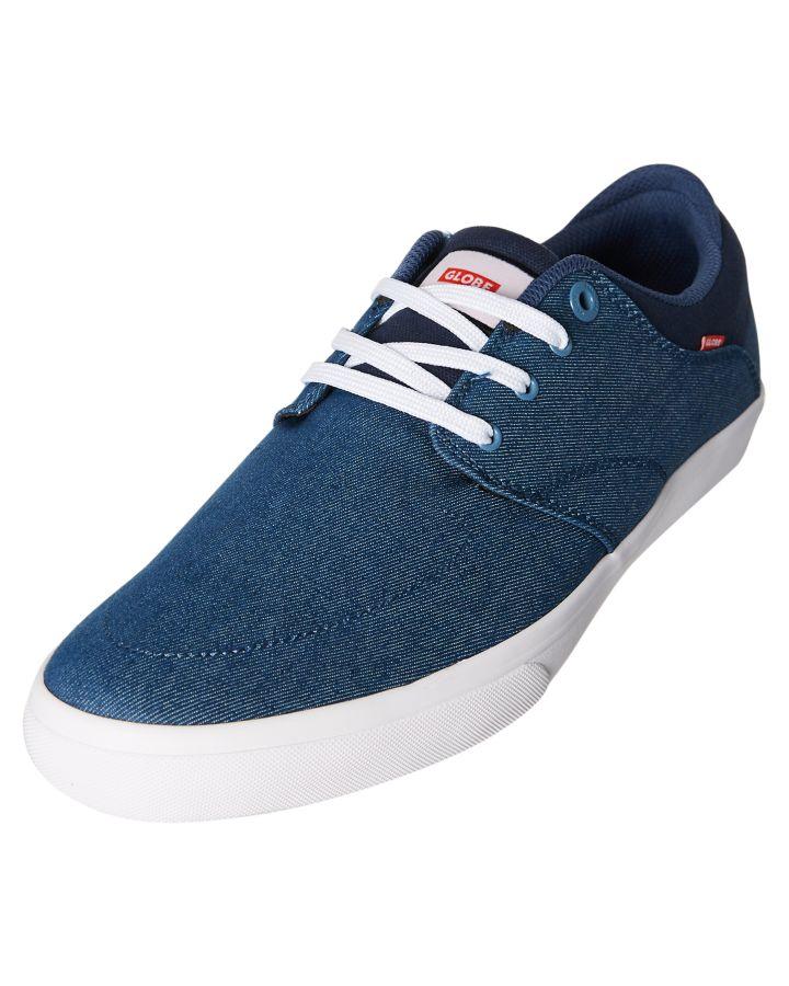 Neue welt skate - männer blau. jagen schuh - leinwand blau. männer d47955
