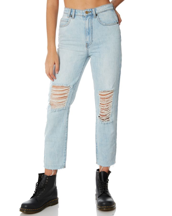 d089585be Insight Womens Tina Mom Jean Friday Blue Womens jeans Available on sale now  in size 27 ...