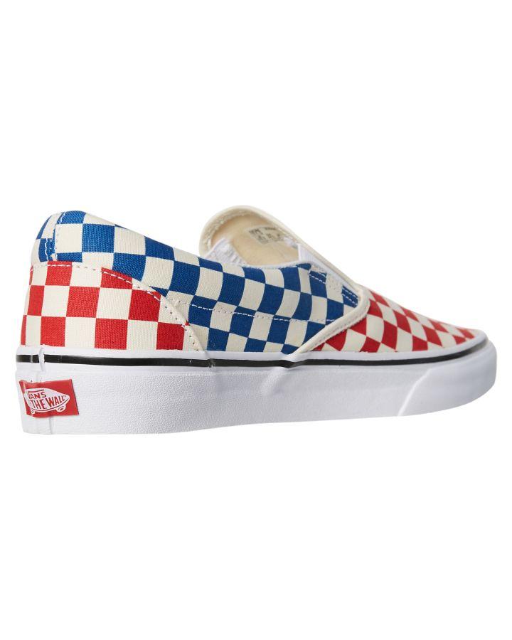 cf733fc9ea975b New Vans Women s Womens Classic Slip On Checkerboard Shoe Rubber ...