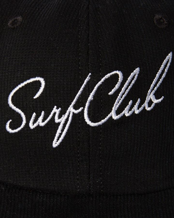 New Oakland Surf Club Men s New Wave Cap Cotton Corduroy Black N A ... 7666f67ec3b8