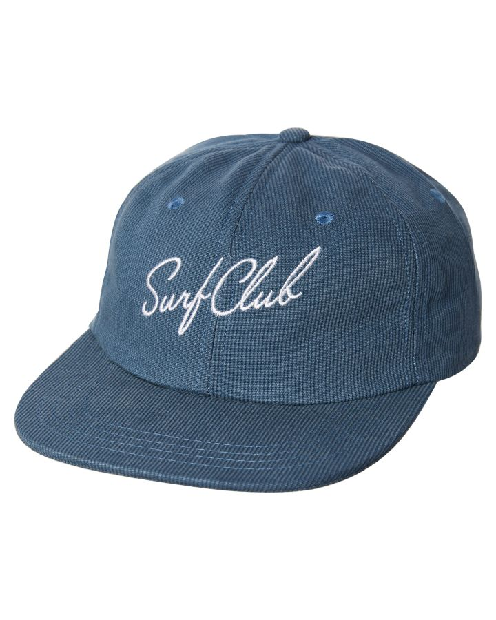 New Oakland Surf Club Men s New Wave Cap Cotton Corduroy Blue  bf0cec706813