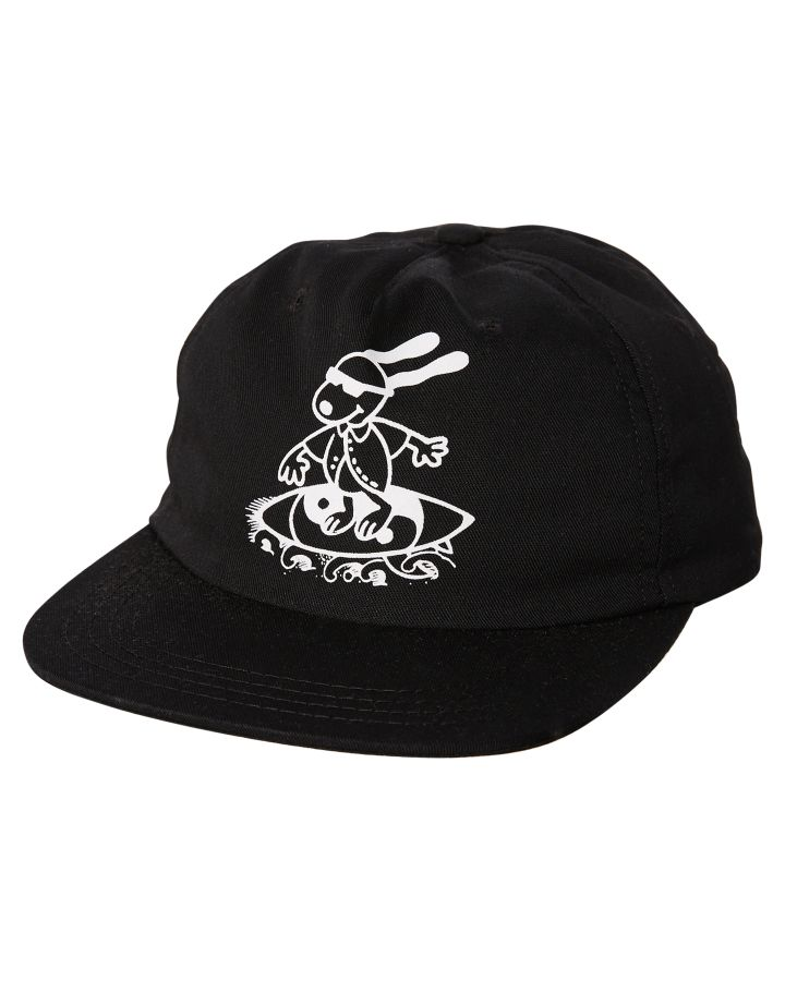Oakland Surf Club Snoopy Cap Black Mens Accessories Other Size ... 09d2d95c6da3