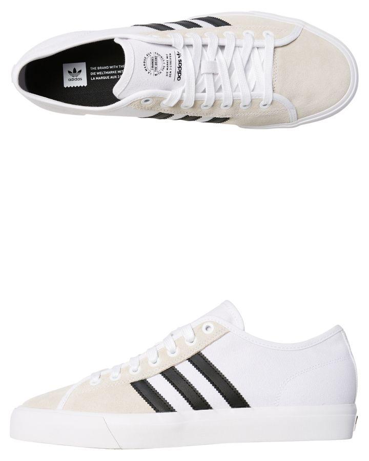 newest collection 3d65c c5555 Ebay Shoe Mens Adidas Skate White Matchcourt Canvas Rx New L