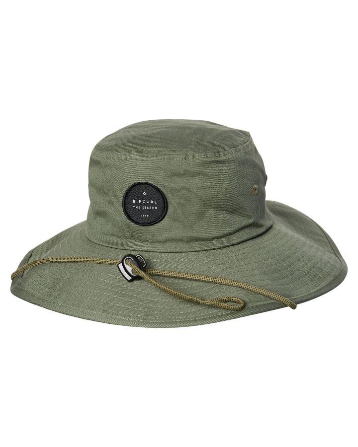 New Rip Curl Men s Valley Wide Brim Hat Cotton Blue  b81a8de758e