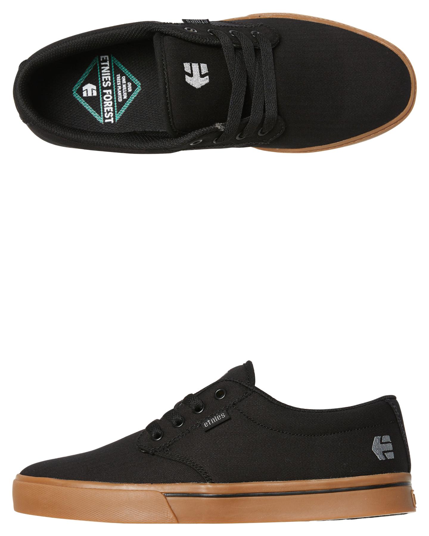 ae3ab4e0a216 New Etnies Jameson 2 Eco Shoe Plastic Pu Black