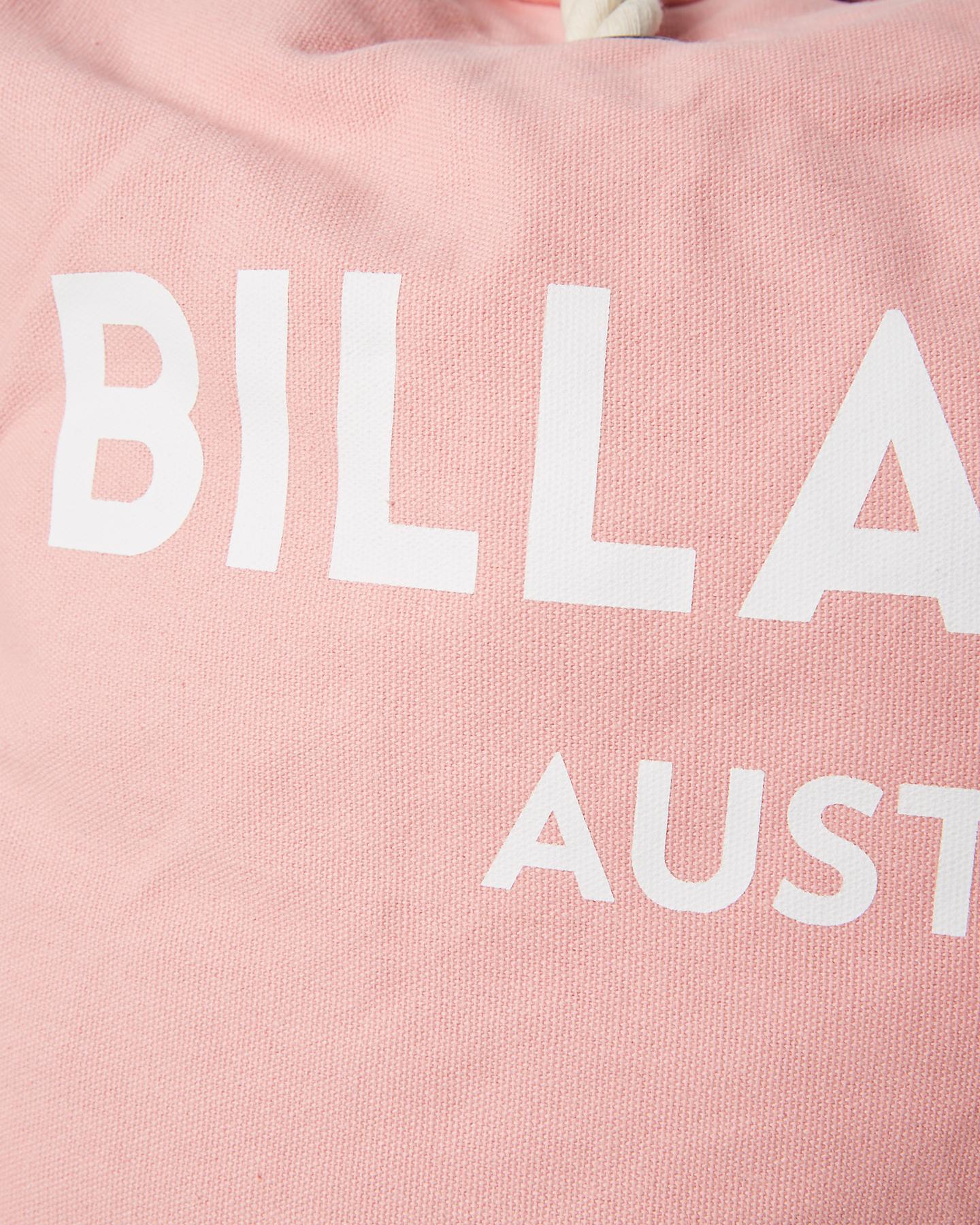 59368ca7895b Billabong Women s Essential Beach Bag Cotton Nylon Pink ...