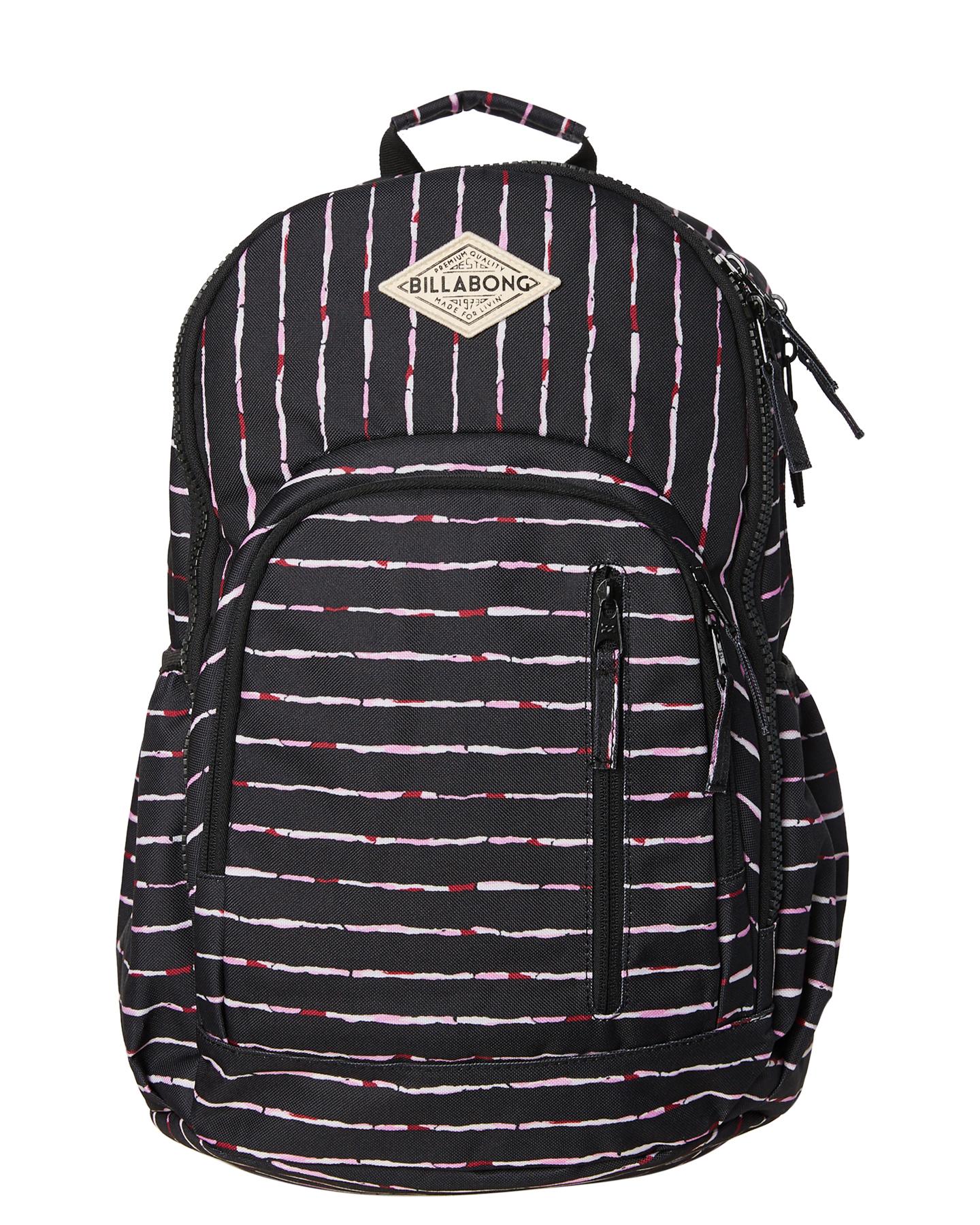 New billabong womens roadie backpack mesh black ebay JPG 1440x1800 Billabong  roadie backpack d2b515f6c4bf6