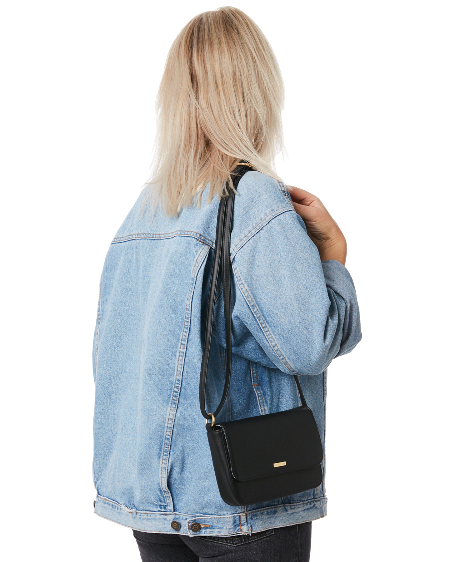 189568a705 New Rusty Women s Stevie Sidebag Black 9347322747956